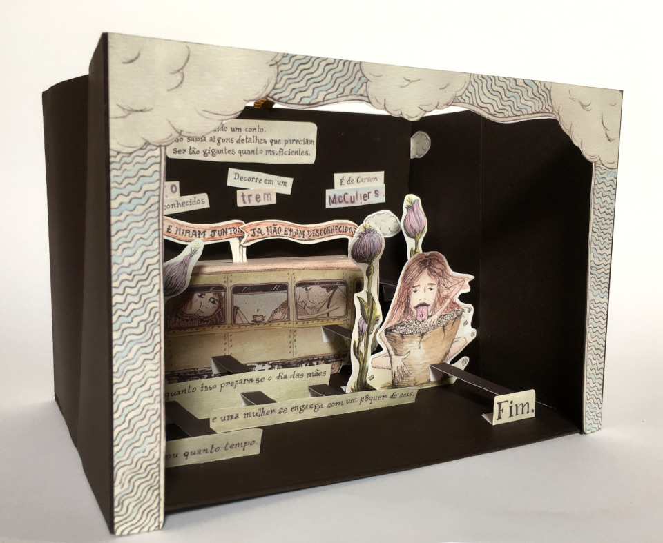 Florencia Lastreto - Os livros das histórias perdidas - Trem