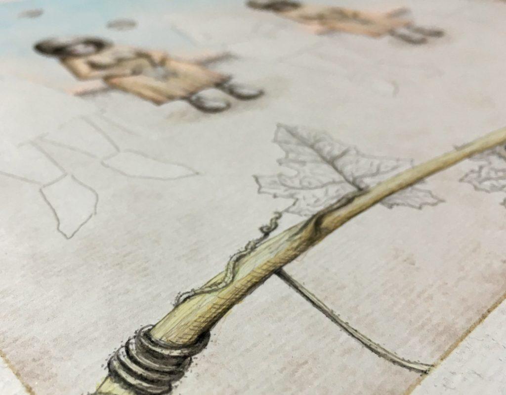 "Florencia Lastreto ""Untitled ladies"" - detalle"