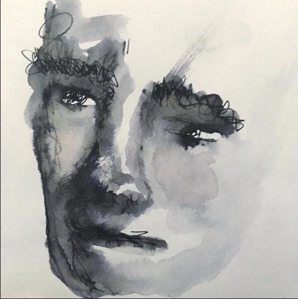 Florencia Lastreto - autorretrato