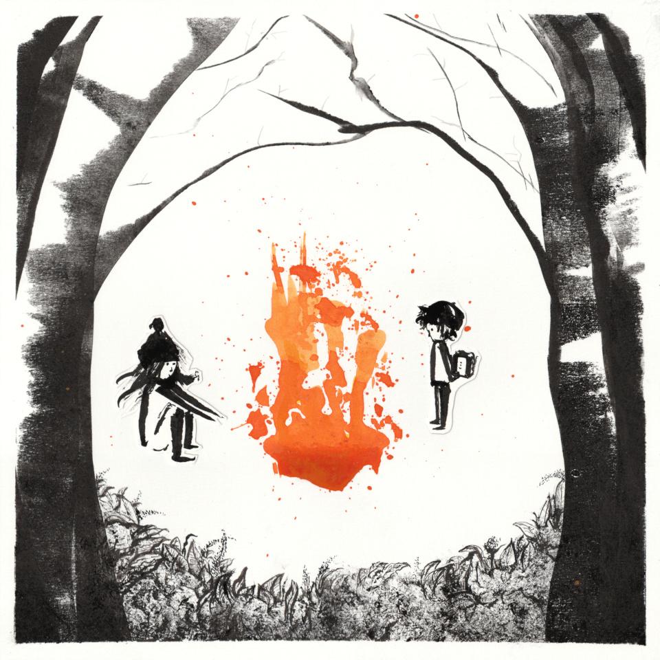 Florencia Lastreto - Children's book illustration - Chispas